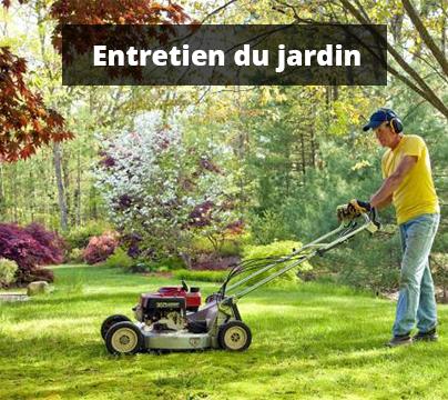 Nos produits d'entretien pour le jardin