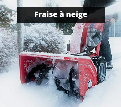 Fraise à neige