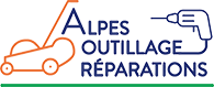 Logo alpes outillages réparations
